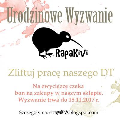 urodzinowe wyzwanie Rapakivi