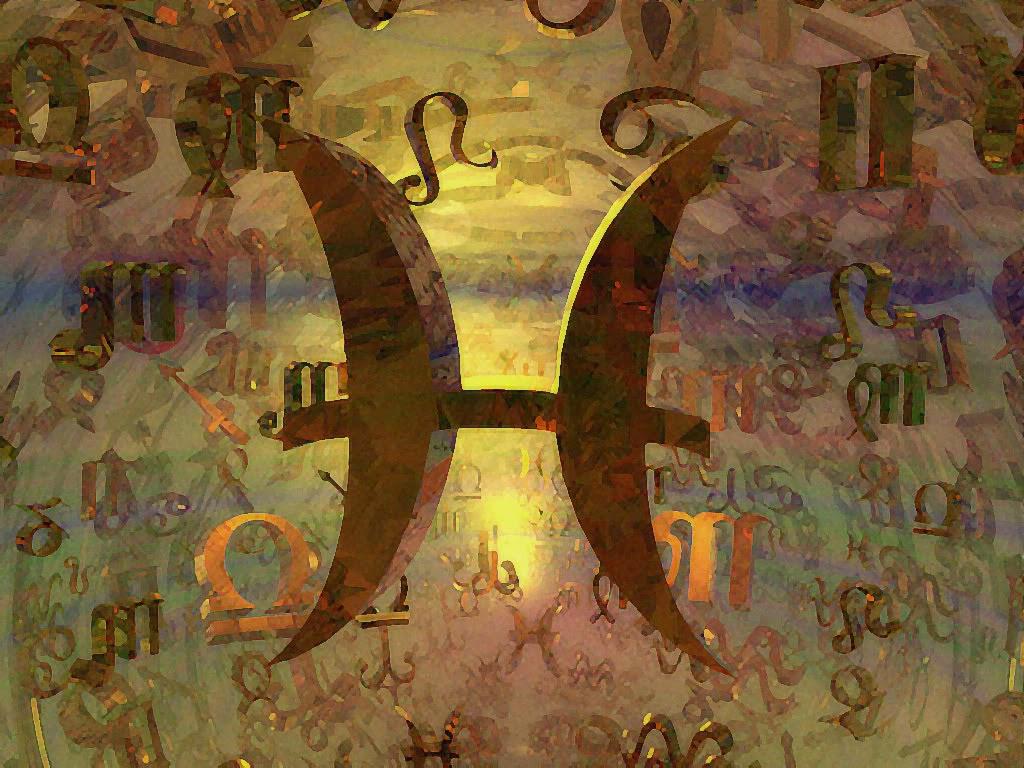 Wallpaper Gratis signo Piscis 03