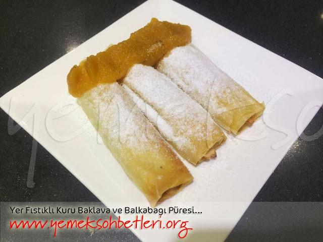 mayalihamurisleri, hamurişi baklava, baklava tarifi, balkabağı püresi, yer fıstıklı baklava, kuru baklava nasıl yapılır, kuru baklava, baklava tarifi