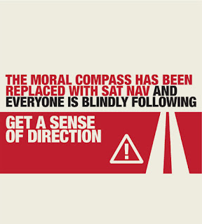 Moral compass broken - no sense of direction