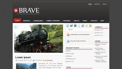 Riviera Blogger Template