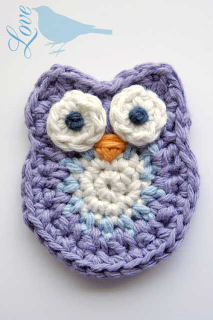 Free Knitted Owl Patterns : FREEBIES FOR CRAFTERS: Crochet Owl Pattern...