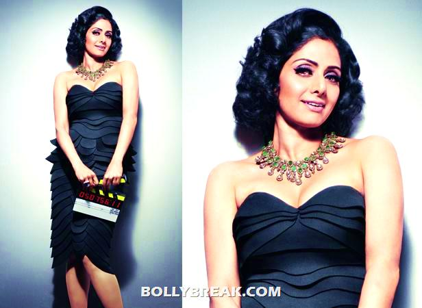 Sridevi in b - (4) -  Sridevi's Photoshoot for Filmfare
