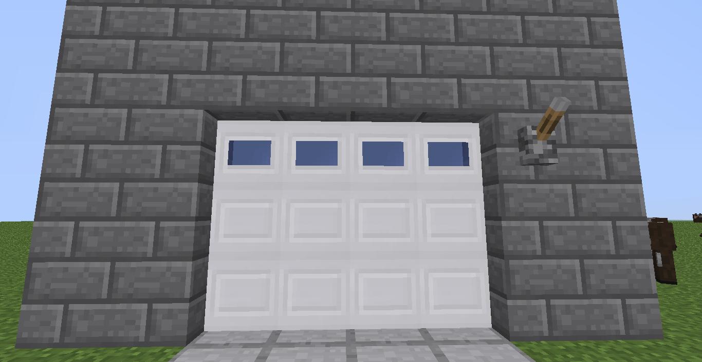 Minecraft en txt malisisdoors mod m s puertas para for Como aser una casa moderna y grande en minecraft