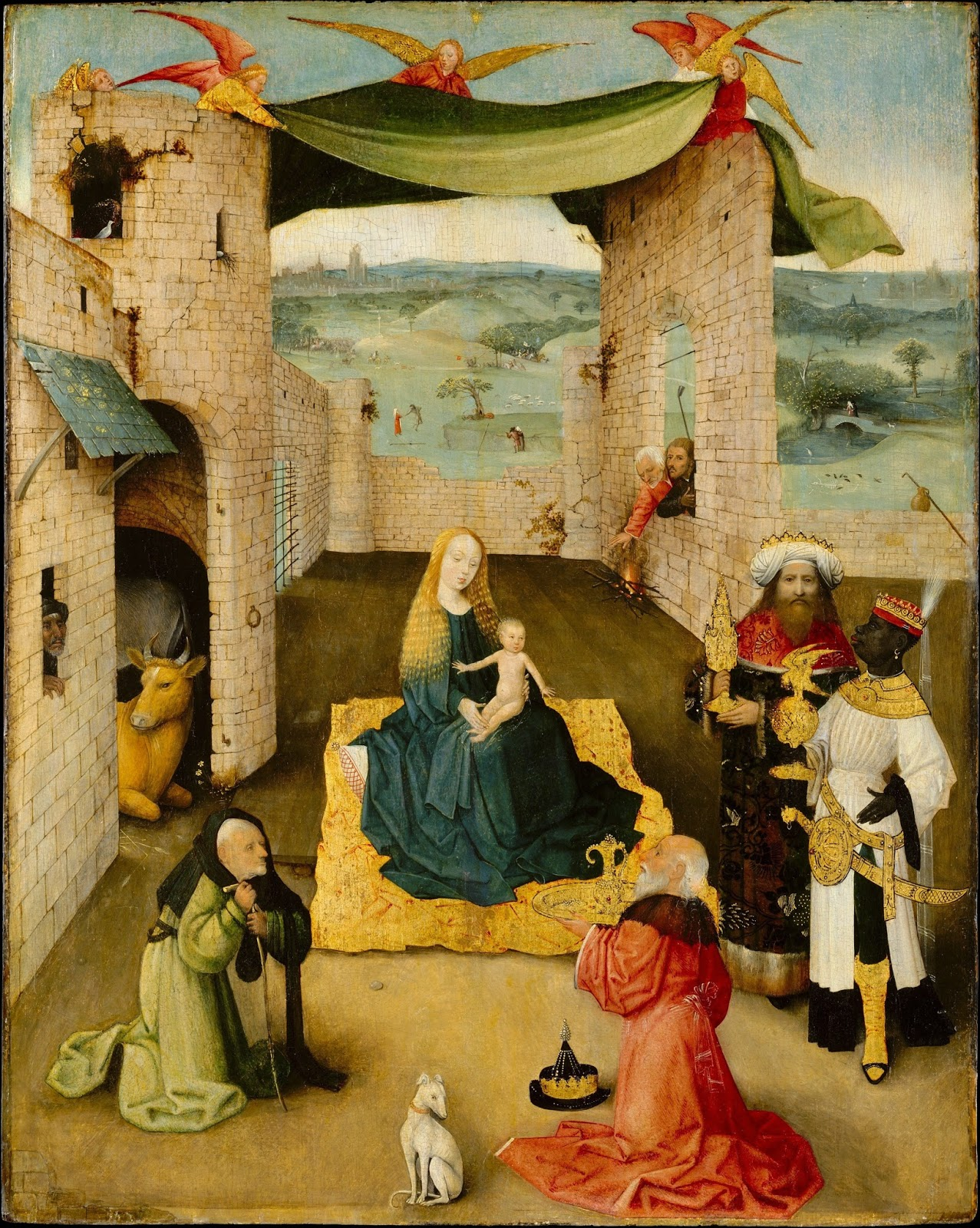 essays menotti s epiphany amahl s roots in hieronymus bosch the adoration of the magi by hieronymus bosch ca 1470 75 oil and gold on wood 28 x 22 1 4 in john stewart kennedy fund 1913
