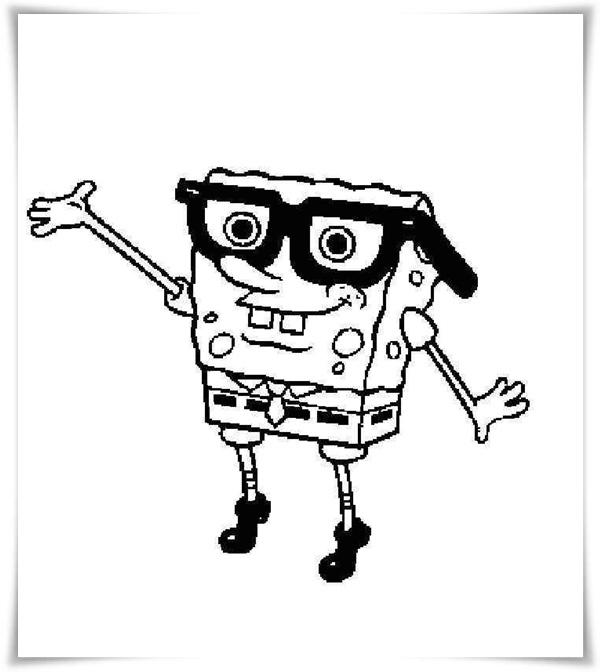 spongebob schwammkopf malvorlagen - SpongeBob Schwammkopf - Schule und Familie