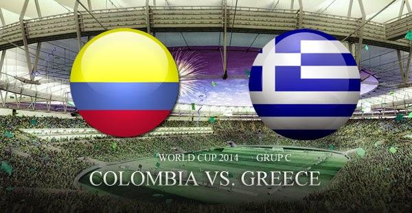Video Cuplikan Gol Colombia VS Yunani Piala Dunia Brazil 2014
