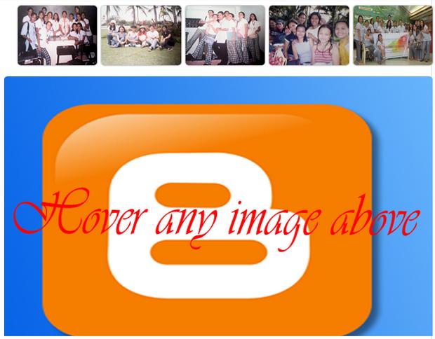 image slider for bloggger