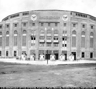 Original Yankee Stadium Babe Ruth New York Yankees