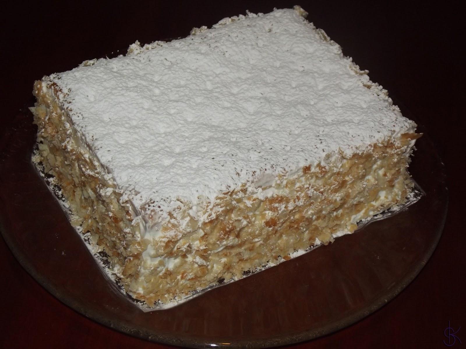 Dolci creazioni millefoglie con crema pasticcera e chantilly for Decorazione torte millefoglie