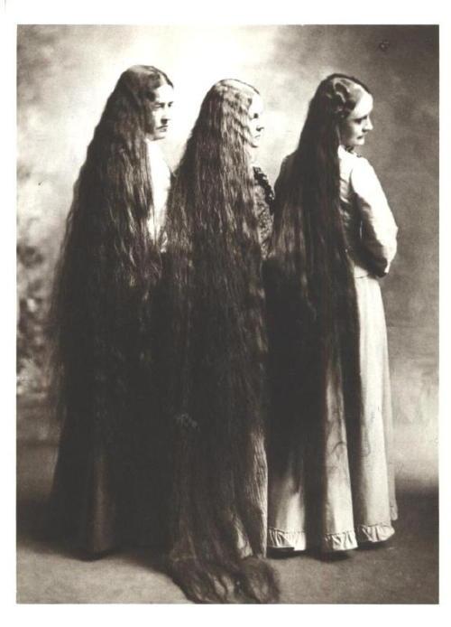 uzun saçlar