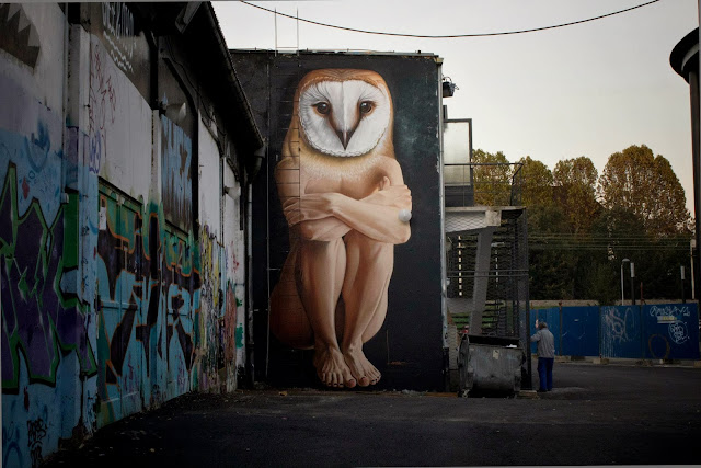 Street Art By Croatian Artist Lonac On The Streets Of His Hometown, Zagreb, Croatia. 1