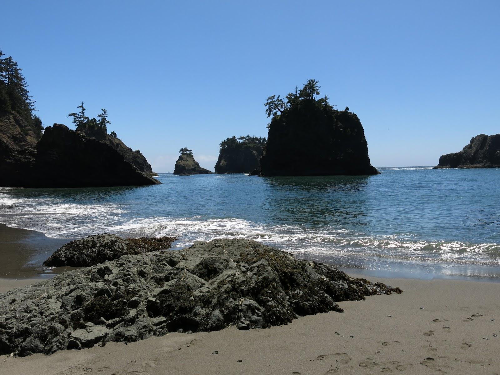 Secret Beach Near Brookings, Or