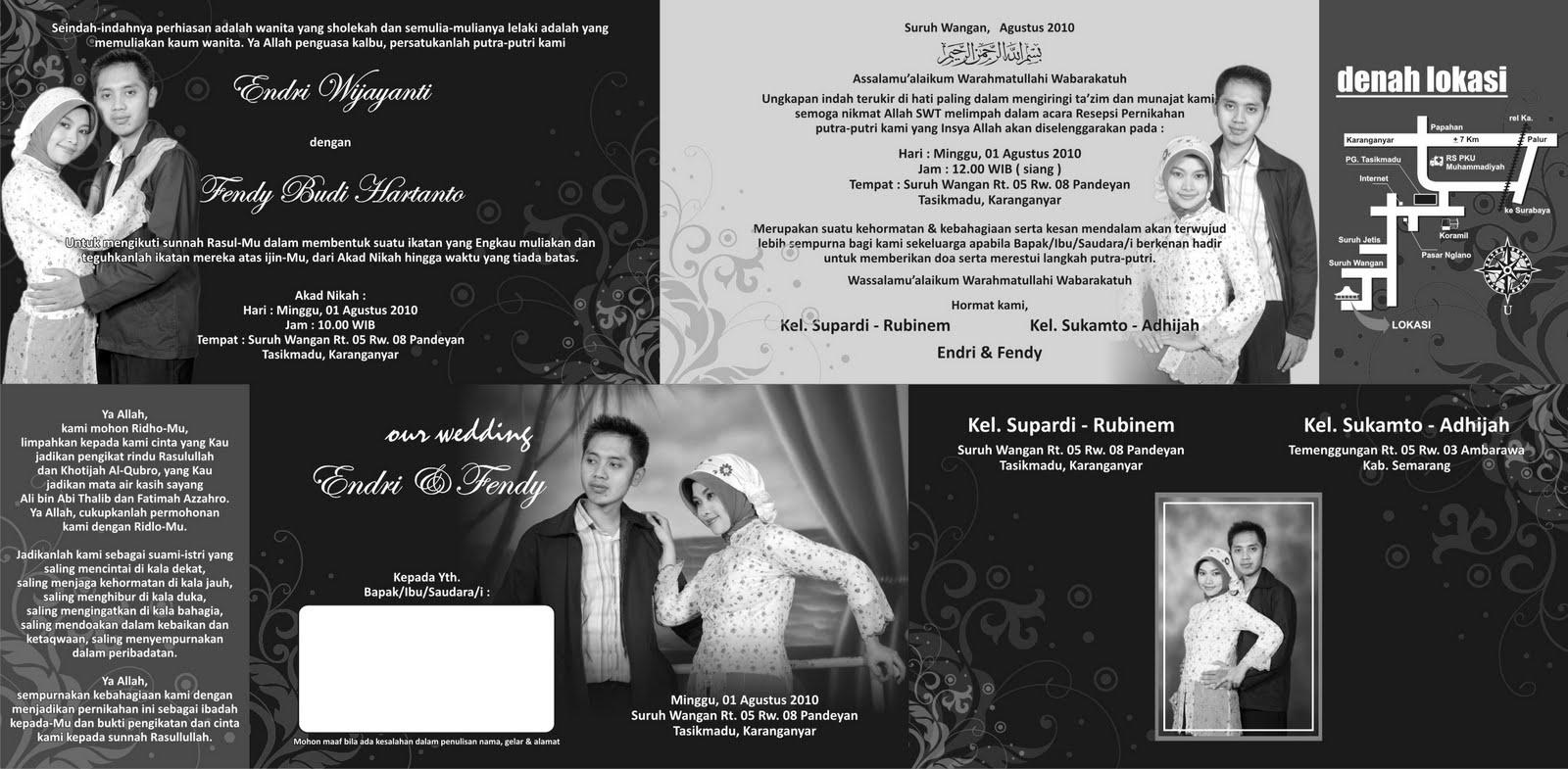 Template undangan yang di posting kali ini kami berikan secara cuma