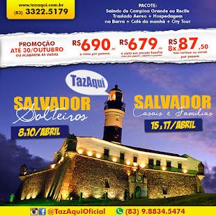 Excursão Salvador