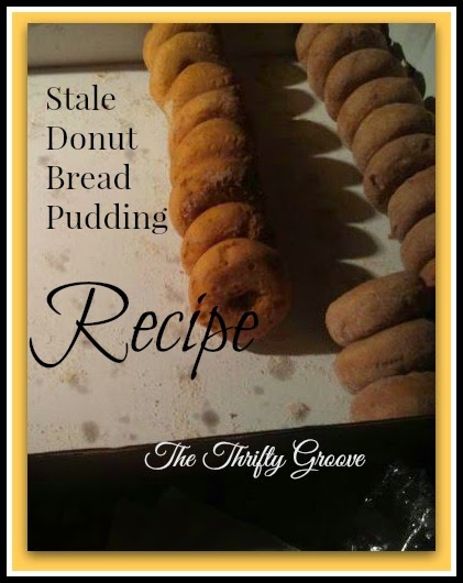 Stale Donut Pudding Recipe