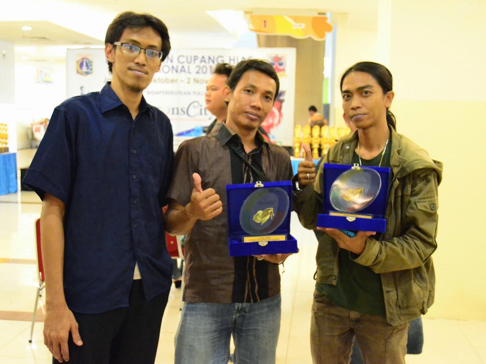Juara Umum kontes nasional season city, jakarta barat 2 nov 2014