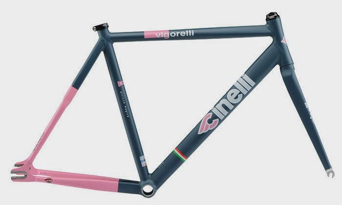 "Kelli Samuelson and her ""Pink"" Cinelli Vigorosa"
