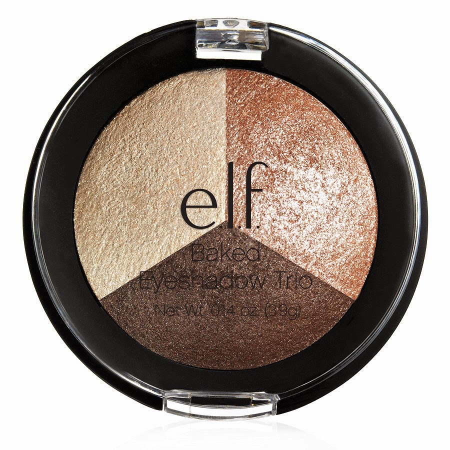 e.l.f.: Studio Baked Eyeshadow Trio, Limited Edition, Peach Please