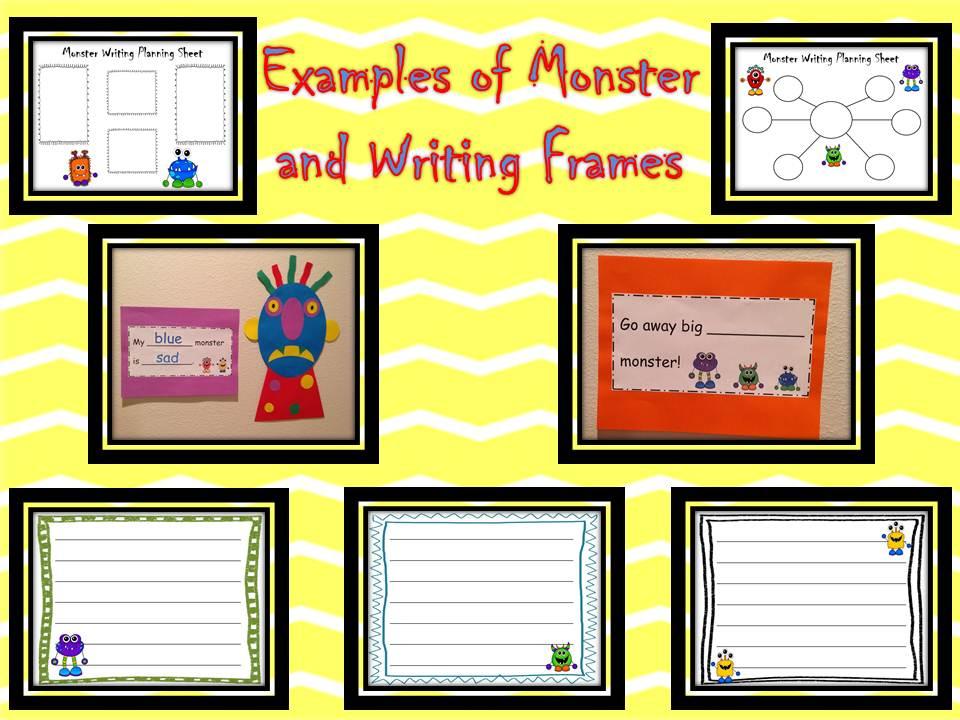 Glad Monster Sad Monster Printables And Glad Monster Sad