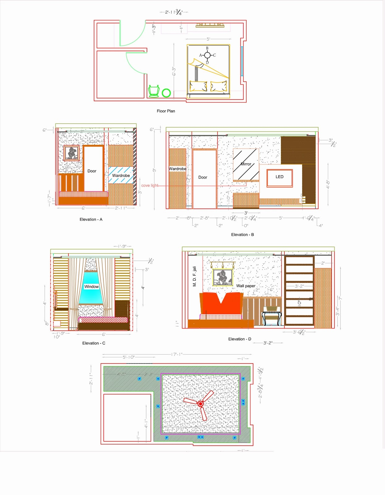 Apartment plan cad dwg circumlocutor for Apartment plans autocad