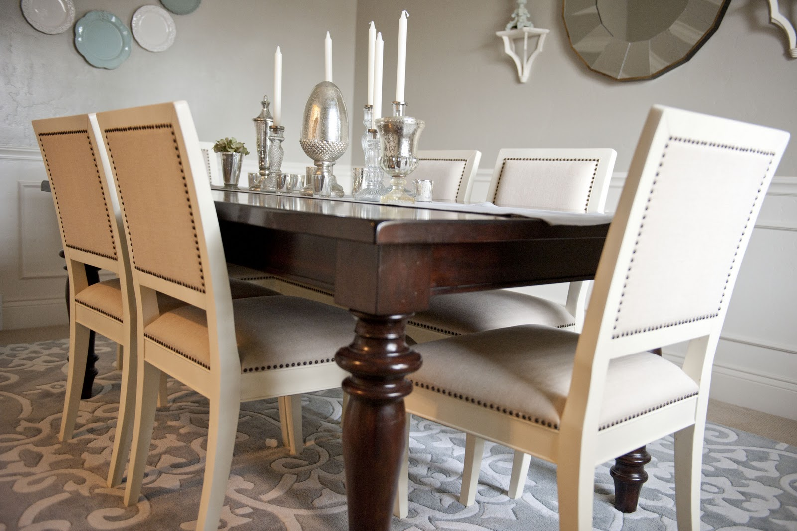 The Dining Room Was Previously Our Formal Sitting Which No One Ever Sat In We Decided That Since Needed More To Entertain Friends And Family