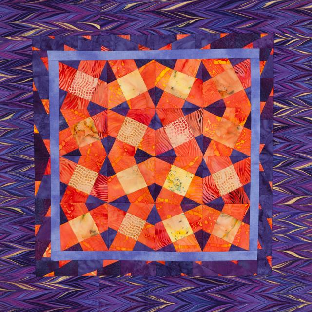 Baby BasiX Pattern - Labyrinth - XBlocks - Quilting Pattern