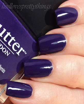 Butter London Bramble swatch and review
