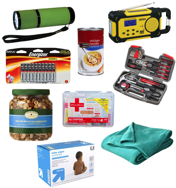Home emergency and first aid kit