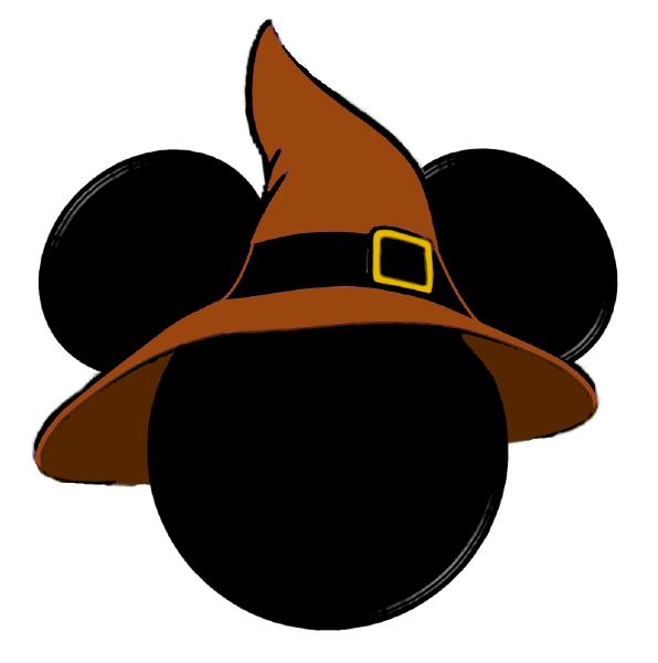 Mickey Mouse silueta para imprimir - Imagui