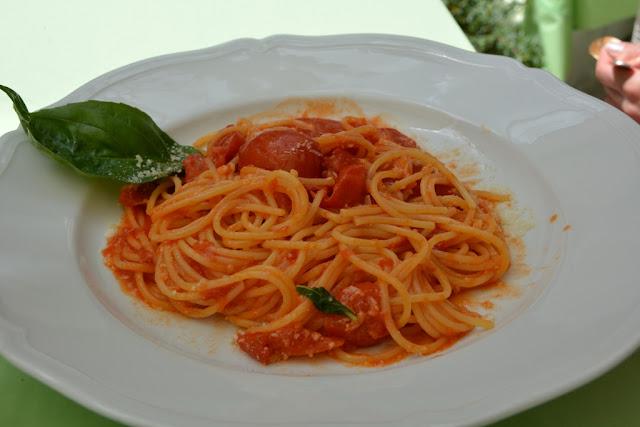 La Palma Hotel Capri Spaghetti