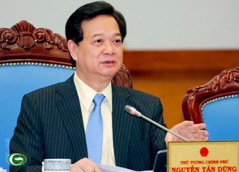Thủ tướng Nguyễn Tấn Dũng: Kiểm soát tốt cung cầu hàng hóa, giảm dần lãi suất cho vay