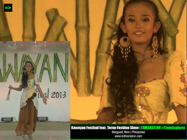Kawayan Festival featuring Abra-inspired Terno Fashion Show