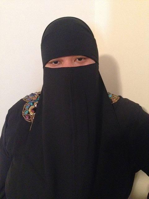 Fashion week Niqab stylish images for woman
