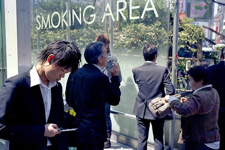 zona fumadores Japón
