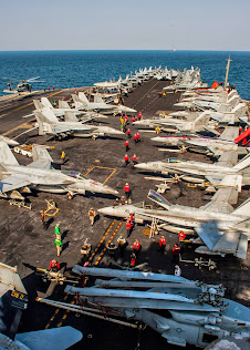 USS CARL VINSON SUPPORTS STRIKES IN IRAQ, SYRIA