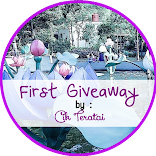 First Giveaway by Cik Teratai