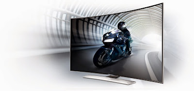 TV Curved HU 9000