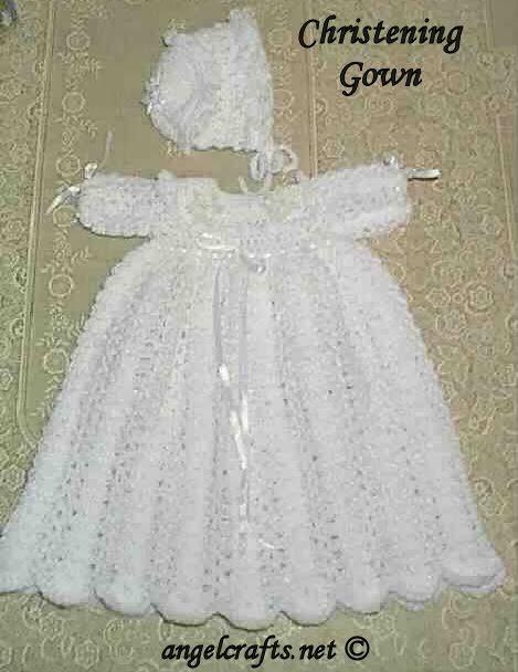 Lassic Dresses Blog Free Knitting Pattern Christening Dress
