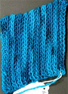... : The Blog: Quick Update: Crochet Ribbing Comparisons & More