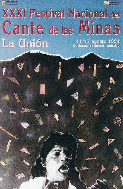 Cartel del Cante de las Minas de 1991