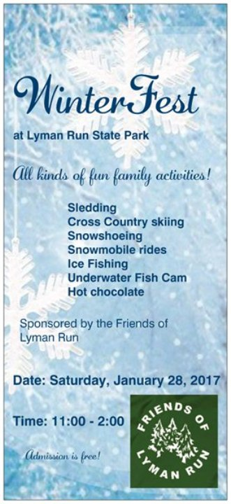 1-28 Lyman Run SP Winterfest