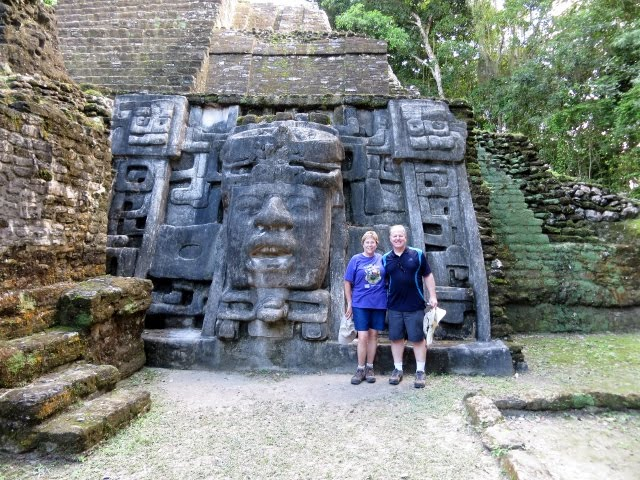 Mask Temple, Lamanai Ruins, Belize, December 1, 2015