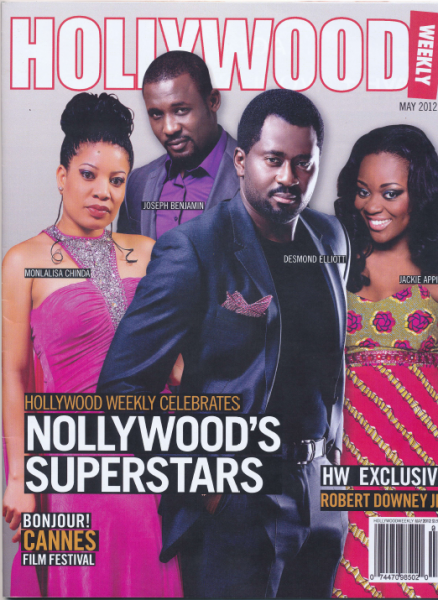 Hollywood Weekly Magazine's Nollywood Feature: These are our 4 ICONIC STARS