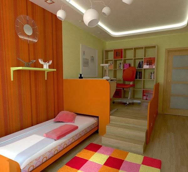 beragam desain kamar tidur remaja yang kreatif desain
