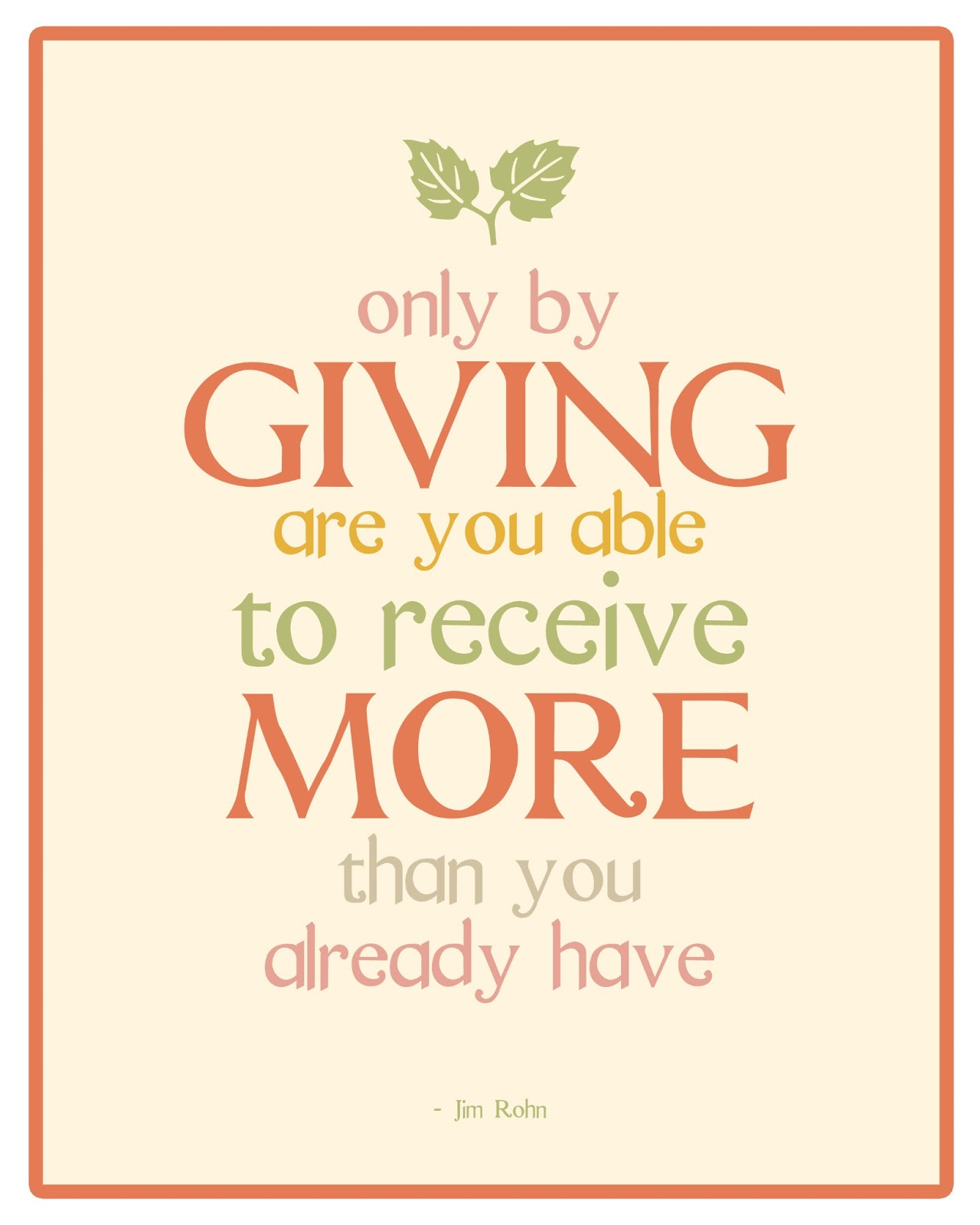 Quote For Today About Happiness Thought Of The Day Giving Back  The Bluebird Patch