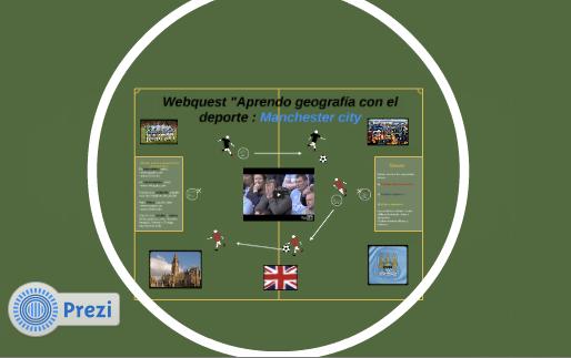 """WEBQUEST: APRENDO GEOGRAFÍA CON... """"Manchester City"""""""
