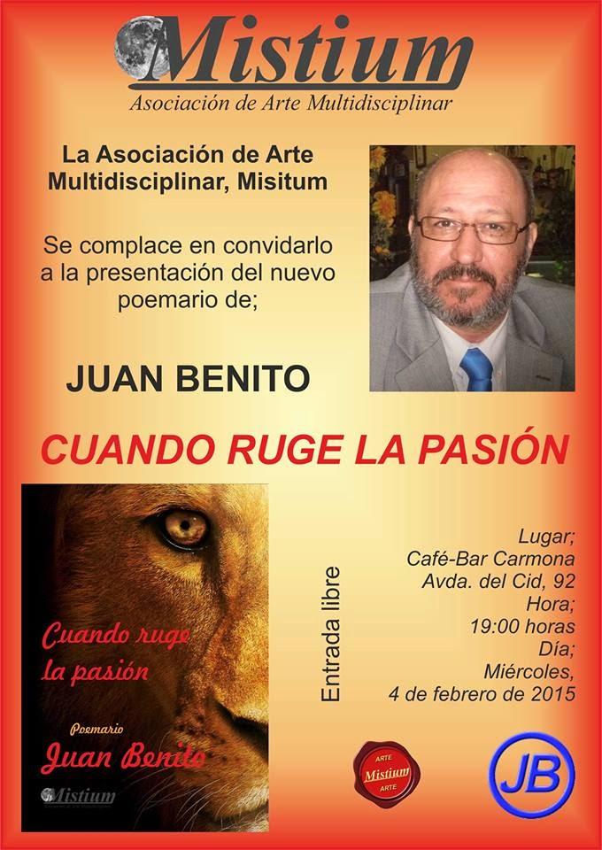 2015.02.04 DIMECRES, CONFERENCIA DE JUAN BENITO