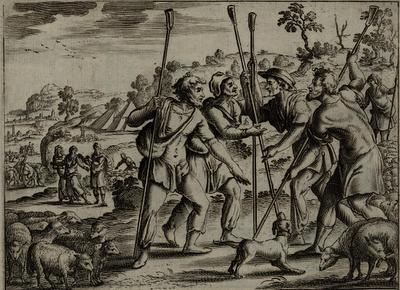 הריב בין רועי לוט לאברהם