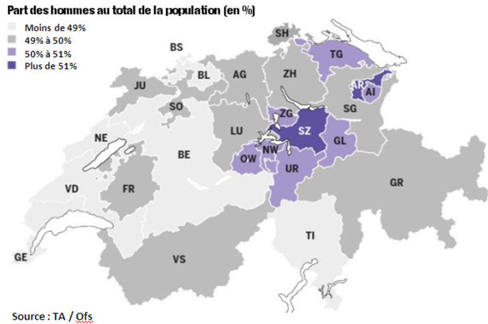 Famille egger la suisse est de plus en plus masculine - Office cantonale de la population geneve ...